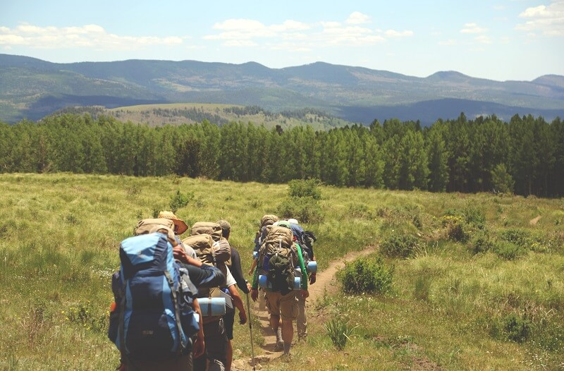 Trekking with a group is a ton of fun! You should try it at least once.