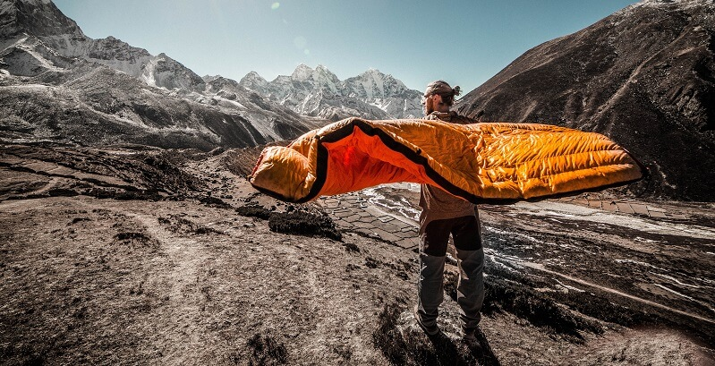Drying a sleeping bag properly will ensure that it doesn't get damaged!