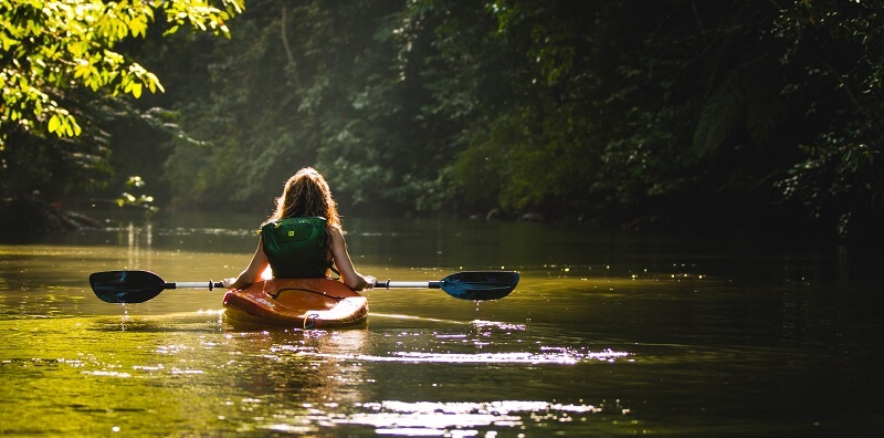 You won't regret learning how to paddle a kayak the right way. It's a total game changer.