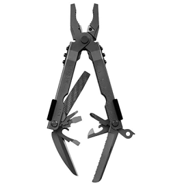 This gerber multi tool looks very sleek with the matte black finish