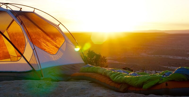 A well maintained sleeping bag will last you for trips and years to come.