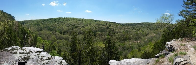 Big Piney Trail, is one of the most immersive trails that you do not want to miss in Missouri.