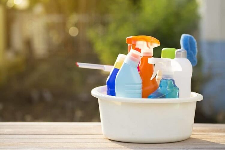 Gather up your tent cleaning supplies and get ready to start washing!